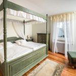 Ferienunterkunft Thüringen großes Doppelbett