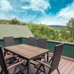 Ferienunterkunft Thüringen Terrasse