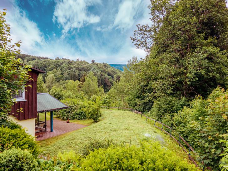 Ferienhaus mit Garten in Brotterode
