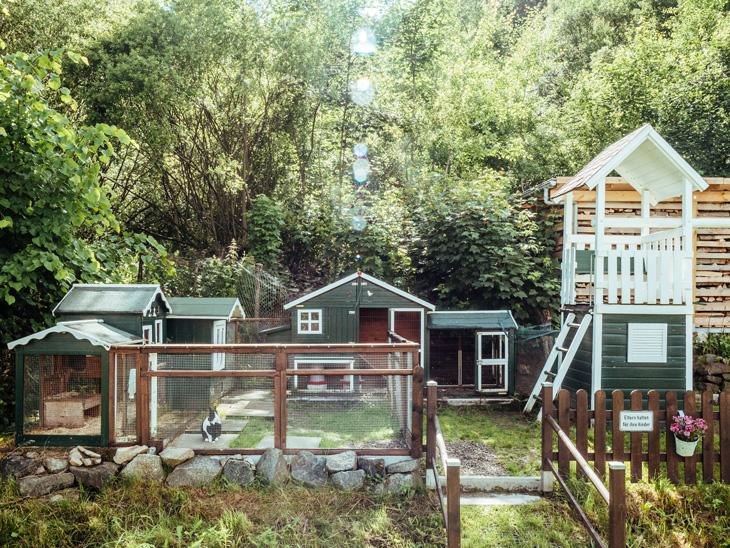 Ferienhaus mit Garten Thüringen