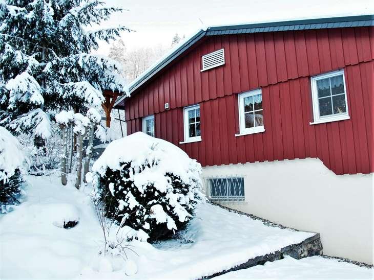 Ferienhaus mit Garten Thüringer Wald